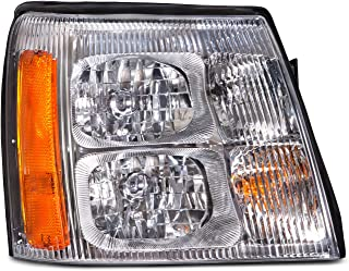 HEADLIGHTSDEPOT Halogen Right Passenger Headlight Compatible With Holiday Rambler Navigator 2008-2009 Motorhome RV