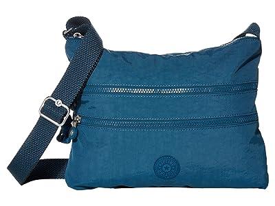 Kipling Alvar Crossbody Bag (Mystic Blue) Cross Body Handbags