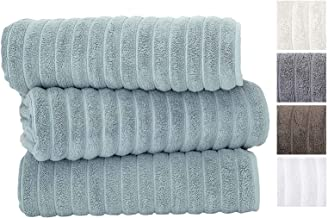 Classic Turkish Towels Luxury 600 GSM Bath Towel Set | Soft Thick and Absorbant Bathroom..