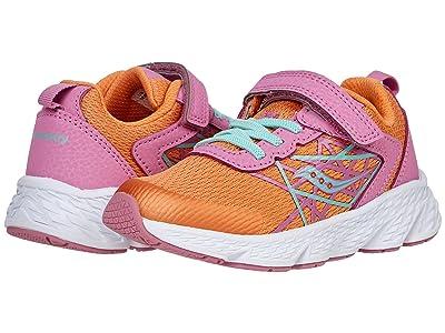 Saucony Kids Wind A/C (Little Kid/Big Kid) Girls Shoes