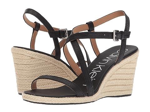 672a7340517b4 Calvin Klein Bellemine Espadrille Wedge at Zappos.com