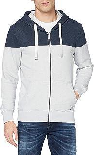 TOM TAILOR Men's Cutline Colorblock Sweatshirt