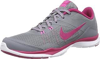 Nike Women's Flex Trainer 5 Cl Grey/SPRT FCHS/Pnk Pw/Stlth Training Shoe 5.5 Women US