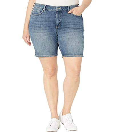 NYDJ Plus Size Plus Size Ella Denim Shorts in Seline Women