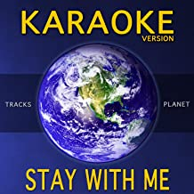 Stay with Me (Karaoke Version)