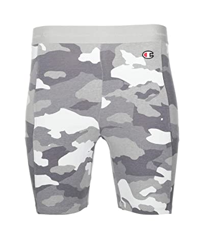 Champion Everyday Bike AOP Shorts (Camo Pop White) Women