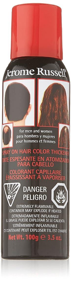 局オーストラリア人口述するJEROME RUSSELL Hair Color Thickener - Black (並行輸入品)