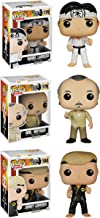 Funko The Karate Kid POP! Movies Collectors Set: Daniel Larusso, Mr. Miyagi, Johnny Lawrence Action Figure