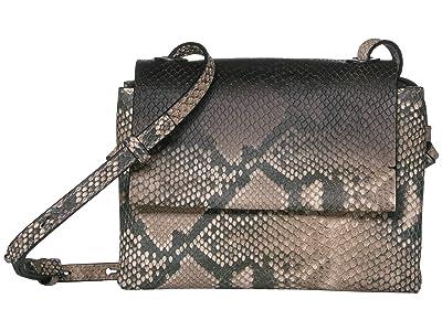 Vince Camuto Dee Crossbody (Natural/Black) Handbags