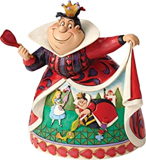 Disney Jim Shore Royal Recreation Queen of Hearts Diorama Dress Figurine 4051993