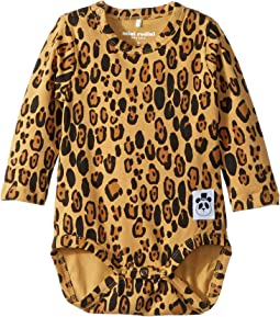 Basic Leopard Long Sleeve Bodysuit (Infant)