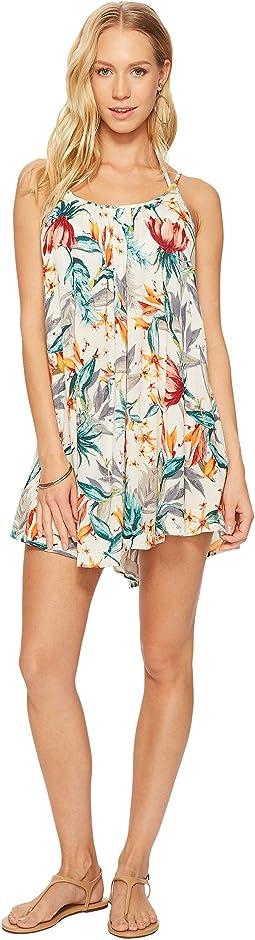Roxy - Windy Fly Away Print Dress Cover-Up