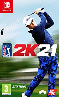 PGA Tour 2K21 (Nintendo Switch) - UAE NMC Version