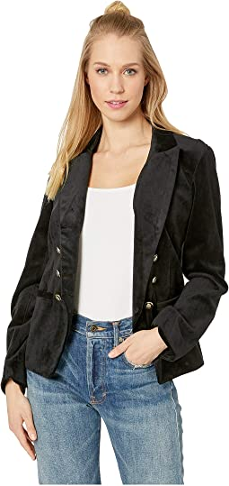 Belisma Tailored Velvet Blazer