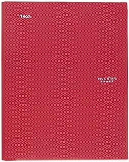 حافظة ذات جيبين ومجلدات ملونة بلاستيكية مع جيوب ومشابك ذات نتوءات بثلاث حلقات، لللوازم المدرسية المنزلية والمكتب المنزلي، ...