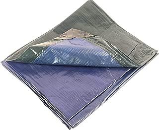 10x12 Heavy Duty Blue/Green Tarp, MOX Film Technology, Premium tarp, Anti-Tear, Waterproof, UV Resistant