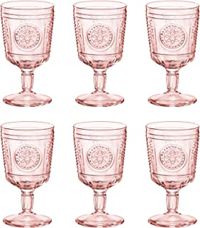 Best pink drinking glasses uk Reviews