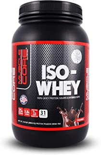 MUSCLE CORE NUTRITION Iso- Whey Chocolate, 2 Lbs.