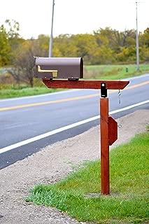 diy swinging mailbox