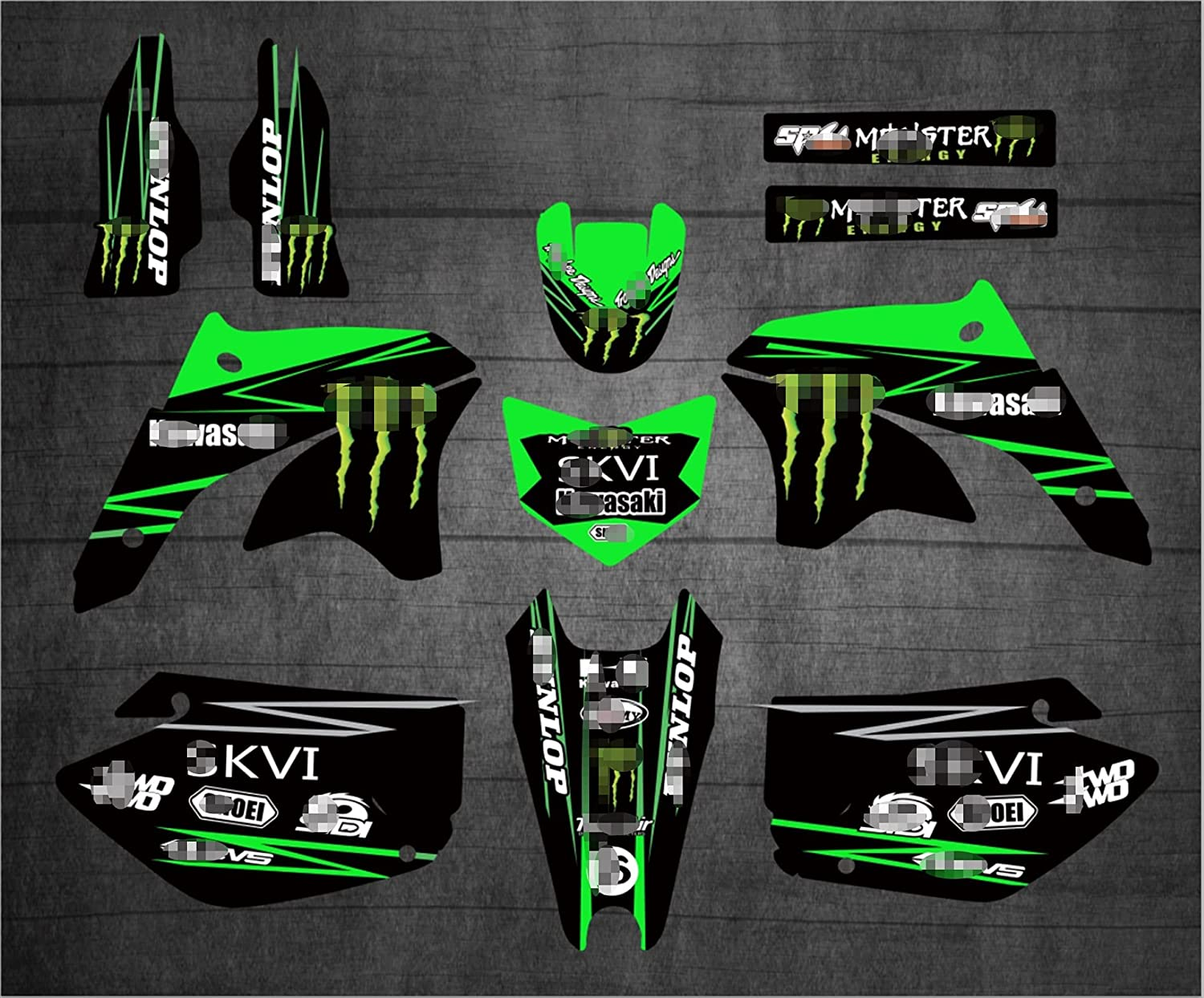 YHYPRESTER Max 66% OFF XYTZ231 Customized 3M Stickers Decals Motorcycle 67% OFF of fixed price Grap