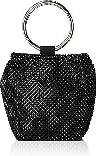 black crossbody evening bag