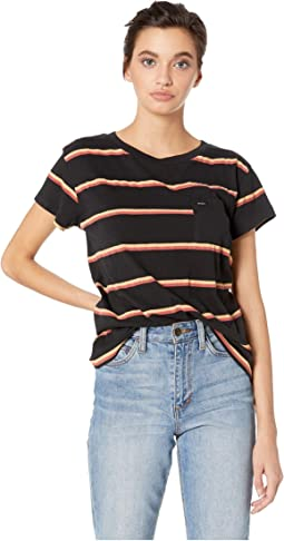 Big Stripe Short Sleeve Tee