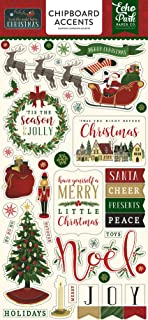 Echo Park Paper Company TWAS The Night Before Christmas 6x13 Chipboard