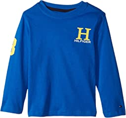 Tommy Hilfiger Kids - Matt-Bex Jersey Long Sleeve Tee (Toddler/Little Kids)