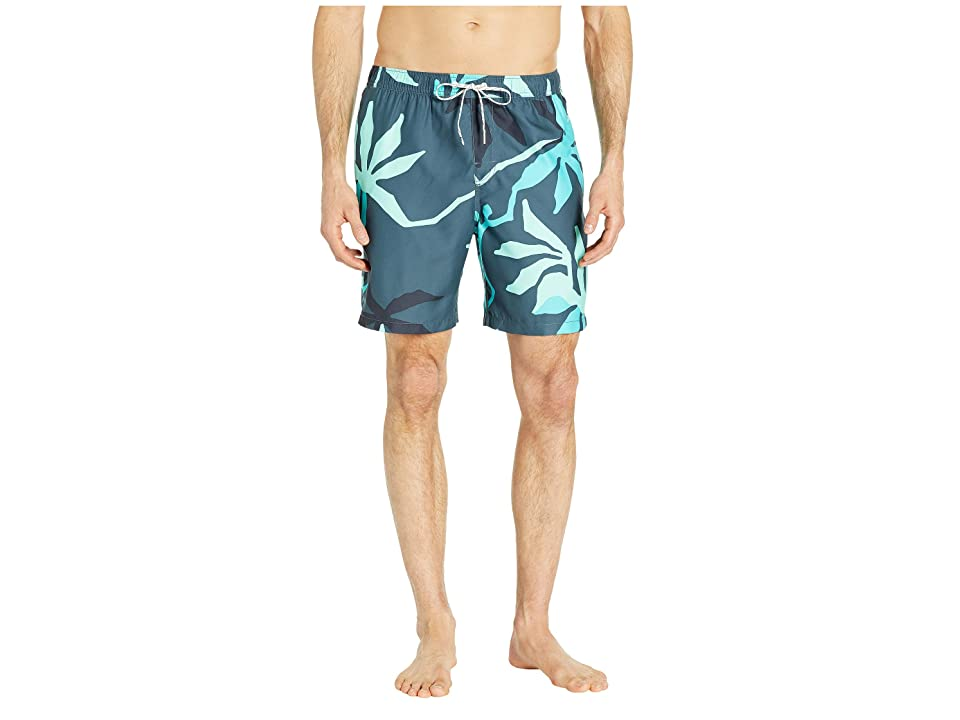 Quiksilver Waterman 18 Gully Floral Volley (Orion Blue) Men