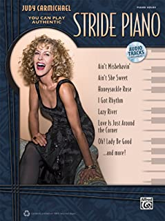 Judy Carmichael -- You Can Play Authentic Stride Piano: Book