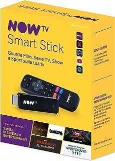 NOW TV Smart Stick con i primi 3 mesi a scelta fra Cinema oppure Entertainment| Chiavetta streaming | TV