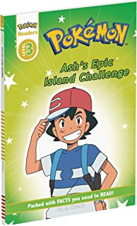 Prima Games Reader Level 3 Pokemon: Ash's Epic Island Challenge (Pokemon Readers, Level 3)