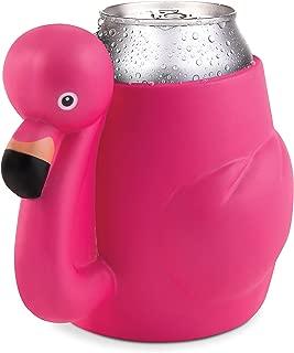 BigMouth Inc Pink Flamingo Drink Kooler, Holds Can or Bottle, Keeps Drink Cold