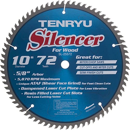 discount Silencer online sale Sawbld 10x72t sale