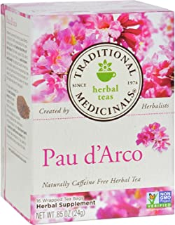 Traditional Medicinal's Pau D'arco Herb Tea ( 6x16 BAG)