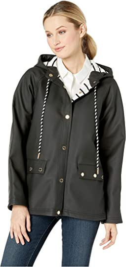 Snap Front Jacket with Hood
