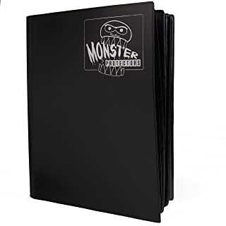 Mega Monster Binder Hard Cover XL Size - Twice as Large as a Standard 9 Pocket Trading Card Binder with Huge 720 Card Capa...