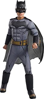 Rubie's Costume Boys Justice League Deluxe Batman Costume, Medium, Multicolor