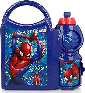STOR Top Handle Combo Set Spiderman Graffiti, Blue, 400 ml, 37971