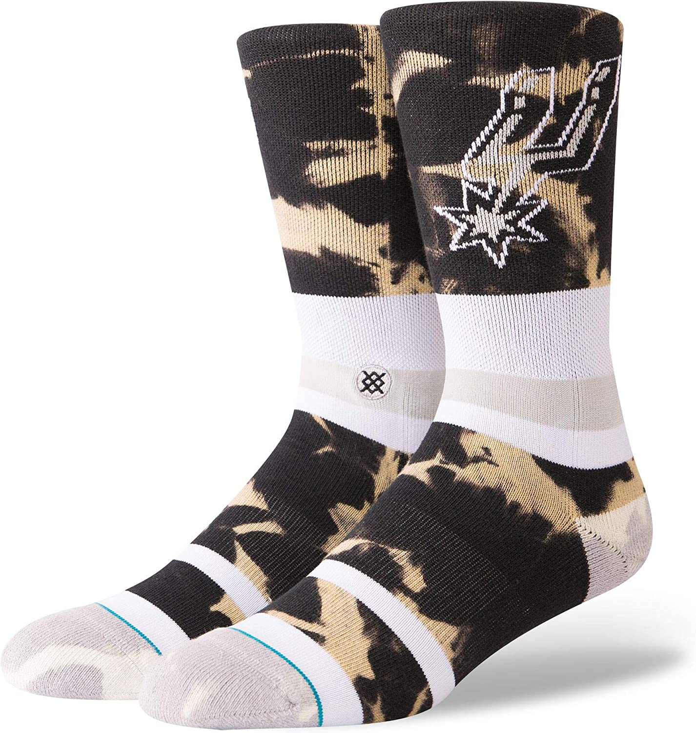 Stance Men's Spurs Acid Wash Socks
