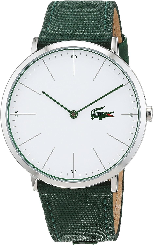 Lacoste Reloj Análogo clásico para Hombre de Cuarzo con Correa en Tela 2010913