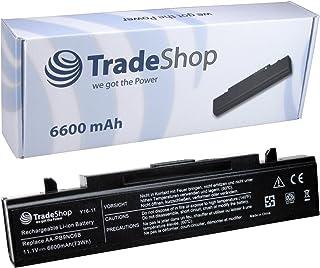 PELTEC@ - Batería de repuesto (4400 mAh, compatible con modelos Samsung NP-Q320, NP-Q430, Q530, R23, R530, R590, E151, RV720, R439, R440, 70A00D/SEG, Q318, R408, R458, R468, R510, R519, R710, R522, R520, R580 y Hawk R460, R505, R509, R730), color negro