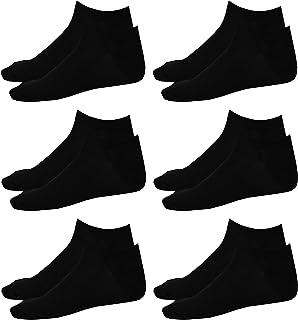 1stAmerican, Calcetines de Deporte Transpirables Hombre Calcetines Debajo del Tobillo (6 pares)