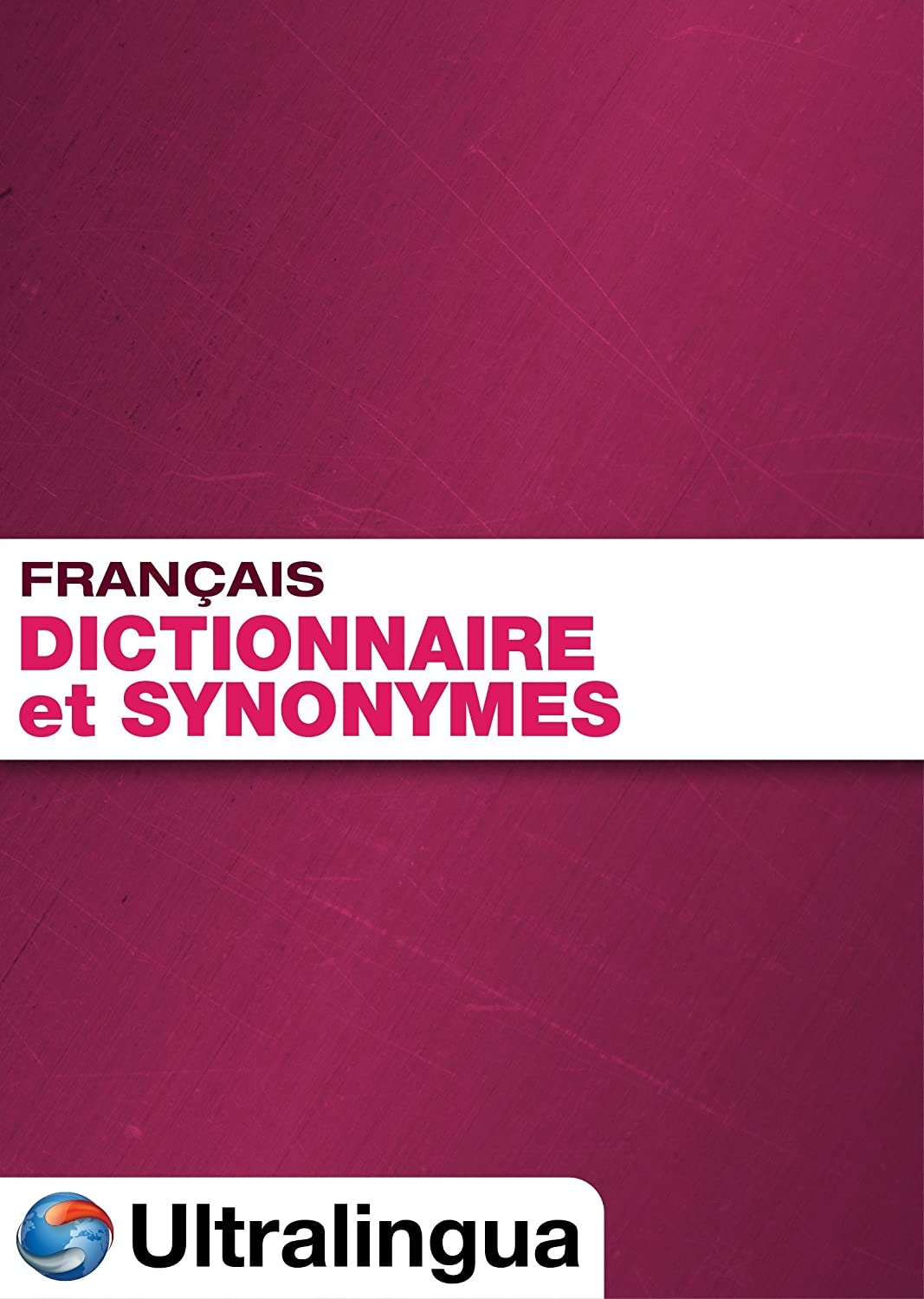 French Dictionary Thesaurus Download shipfree Sale PC for