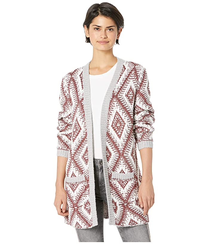 Roxy All Over Again Cardigan Heritage Heather Roxy Women/'s Clothing Cardigans