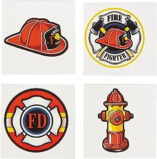 Fun Express Firefighter Tattoos - 72 pcs