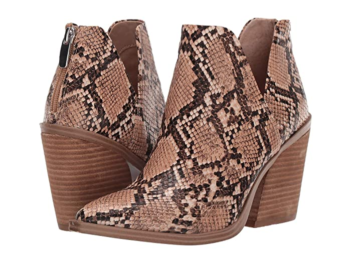 Steve Madden  Alyse Bootie (Tan Multi) Womens Shoes