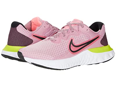 Nike Renew Run 2 (Elemental Pink/Sunset Pulse/Black/Cyber) Women
