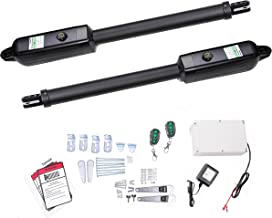 TOPENS AD5 Automatic Gate Opener Kit Medium Duty Dual Gate Operator for Dual Swing Gates Up to 16 Feet or 550 Pounds, Gate Motor