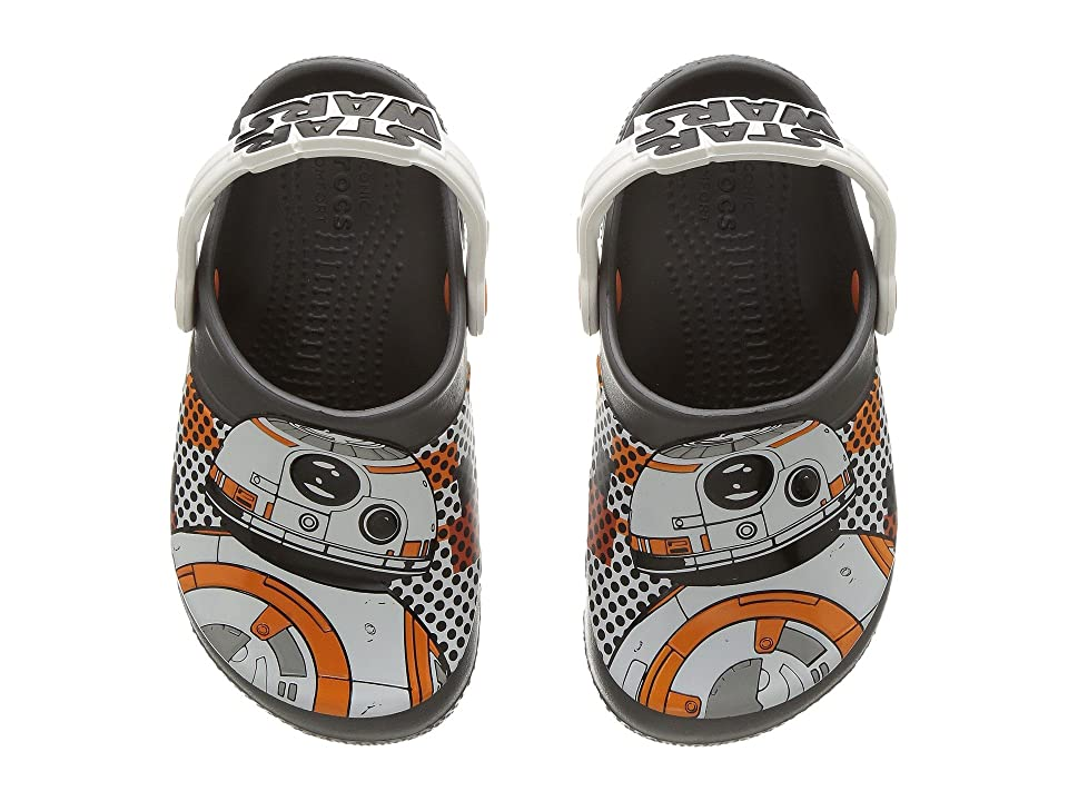 Crocs Kids FunLab BB-8 Clog (Toddler/Little Kid) (Graphite) Boys Shoes